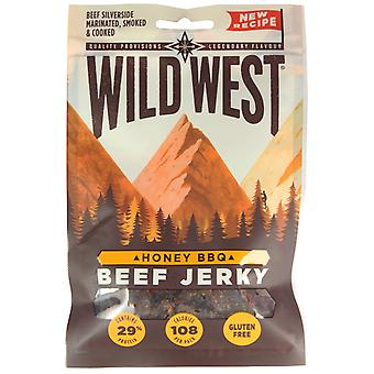 Wild West Honey BBQ Beef Jerky 35G X 3