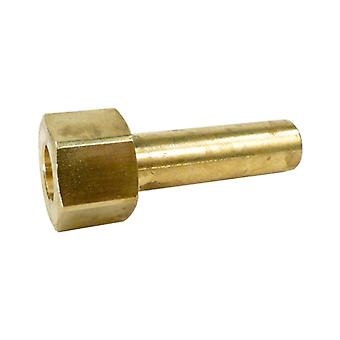 Val-Pak V60110 Brass Sleeve Nut for Pro-Grid Filter Clamp