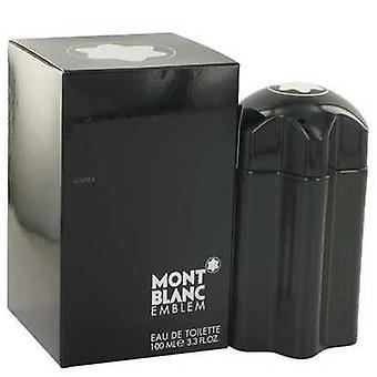 Montblanc embleem door Mont Blanc Eau de Toilette Spray 3,4 oz (mannen) V728-513832