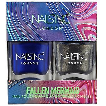 Nails inc Nail Polish Duo - Fallen Mermaid Collection (10734)