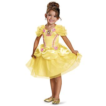 Belle Classic Disney Princess Beauty and the Beast Dress Up Girls Costume S