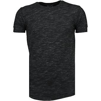 Sleeve Garter-T-Shirt-Black