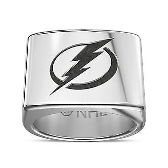 Tampa Bay Lightning ring in Sterling Zilver ontwerp door BIXLER