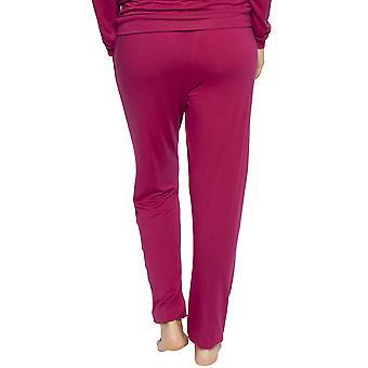 Cyberjammies 4227 Frauen's Susie Cherry Red Modal Pyjama Hose