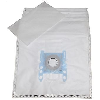 Bosch Microfibre Vacuum Cleaner Dust Bags Type D E F G H + Filter
