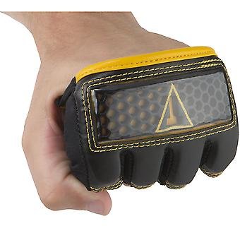 Title Boxing Hexicomb Tech Knuckle Guards - Black/Yellow