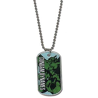 Necklace - Gundam 00 - New Dynames Anime Licensed ge36150