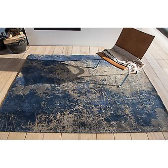 Mad Men Cracks 8629 Abyss Blue  Rectangle Rugs Modern Rugs