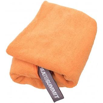 Sea to Summit Tek handdoek Medium-Oranje