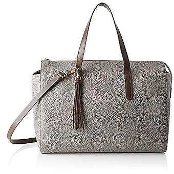 Bourbon94068f09 Grey Women's Bowling Bag (Slate/Cortex) 35x26x16.5 cm (W x H x L)