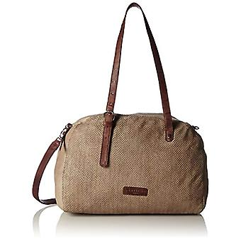 Liebeskind Berlin Camden City - Donna Grau Shoulder Bags (Metero Sand) 18x20x28cm (L x H D)