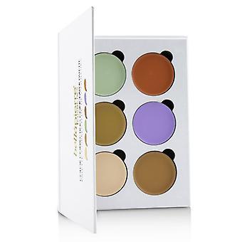 Bellapierre kosmetiikka väri korjaava peite voide paletti (6x peite voide)-24g/0.8 oz