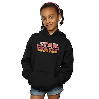 Star Wars Girls Tatooine Suns Logo Hoodie