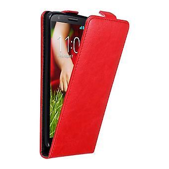 Cadorabo geval voor LG G2 gevaldekking-telefoon geval in flip ontwerp met magnetische sluiting-Case cover geval geval geval boek vouwen stijl
