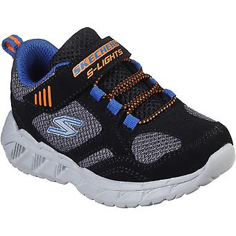 Skechers Boys Magna-Lights Light Up Casual Trainers Shoes