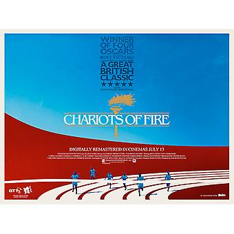 Chariots Of Fire 2012 Re-Release Poster Double Sided (Quad) (2012) Original Cinema Poster