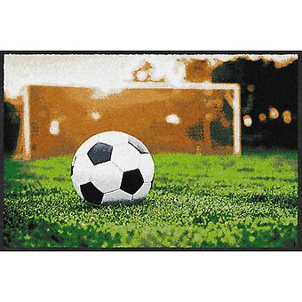 Salon Leeuw vrije trap World Cup mat 50 x 75 cm vuil overlapping Vloermatten wasbaar