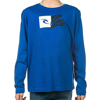 Rip Curl Brash Long Sleeve T-Shirt in Surf The Web