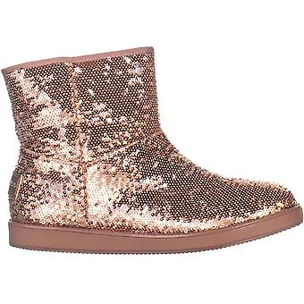 Guess Womens Asella Fabric Closed Toe Ankle Cold Weather Boots