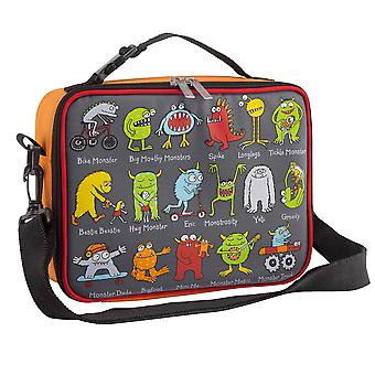 Tyrrell Katz Monsters Design Kids Insulated Lunch Bag With Strap