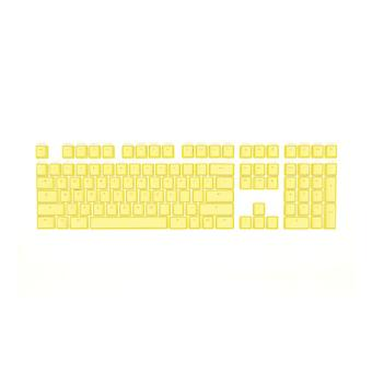Mionix Keycaps Full Set for Mechanical RGB Gaming Keyboard US/UK Yellow