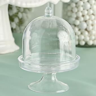 Mini Cake Stand and Plastic Box From The Perfectly Plain Collection