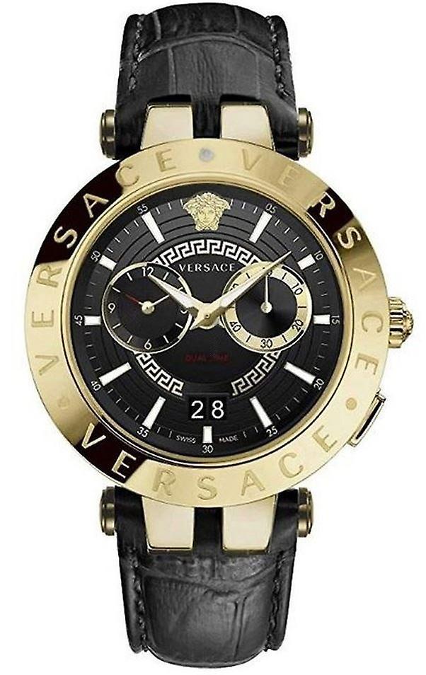 Versace Vebv00119 V-Race Men's Watch 46 Mm