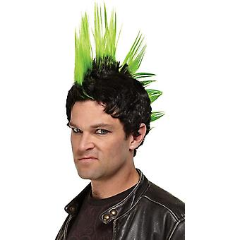 Green Wig For Punk Rocker