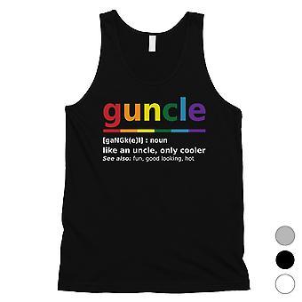 LGBT Guncle Hombres Tanque Top Gran Regalo Idea para Navidad