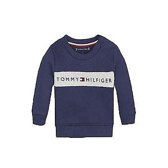 Tommy Hilfiger Boys Tommy Hilfiger Infant Boy's Navy/Grey Loopback Sweatshirt