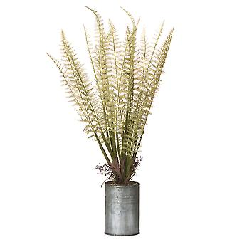 Hill Interiors Artificial Tin Can Fern