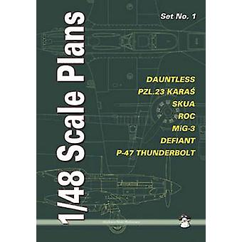 148 Scale Plans Set No. 1 by Dariusz Karnas