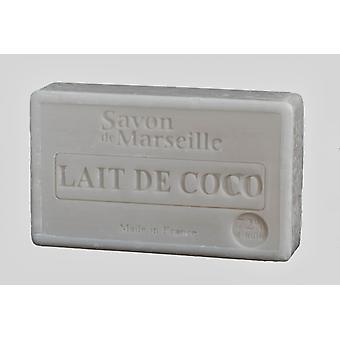 Savon de Marseille Le Chaterlard - coconut milk - a lovely sweet scent for smooth skin 100 g