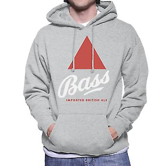 Bass Imported British Ale Men's Hooded Sweatshirt