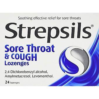 Strepsils Lozenges Keelpijn & Hoest Pack van 24