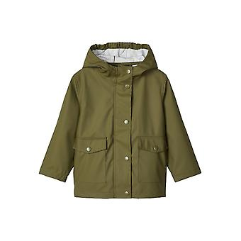 Navn-det Raincoat Mil Winter Moss