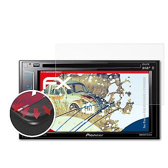 atFoliX Glass Protector compatible with Pioneer AVH-X3700DAB / X3800DAB 9H Hybrid-Glass