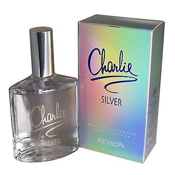 Charlie Silver naisten Revlon 3,3 oz Eau de Toilette Spray