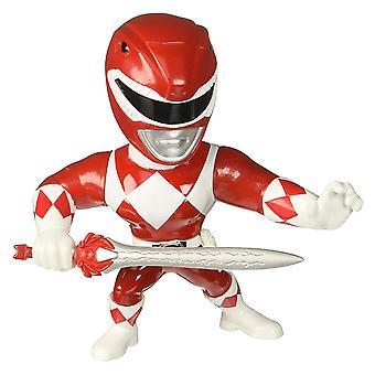 """Power Rangers Red Ranger 4"""" Metals"""