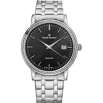 Claude Bernard - Watch - Men - Classic Gents 42mm - 53009 3M NIN