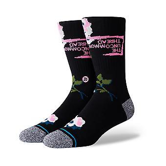 Stance Mundus Novus Crew Socks in Black