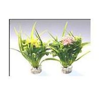 Большой цветок Sydeco (рыба, украшение, Artificitial растения)