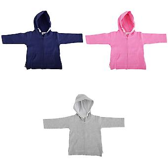 Babybugz Unisex Baby Full Zip Brushed Fleece Hoodie