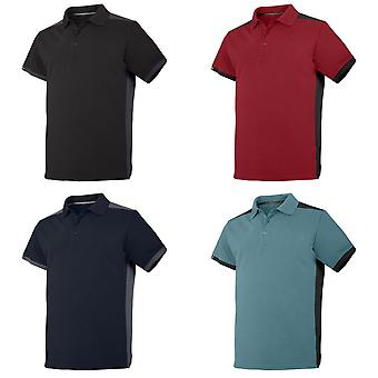 Snickers Mens AllroundWork Short Sleeve Polo Shirt