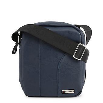 Carrera Jeans Originele Heren Lente/Zomer Crossbody Bag Blauwe Kleur - 70319