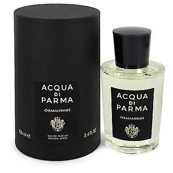 Acqua Di Parma Osmanthus Eau De Parfum Spray por Acqua Di Parma 3.4 oz Eau De Parfum Spray