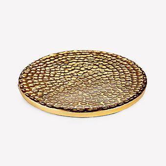 Aluminium Coaster - Guld - Hamrade