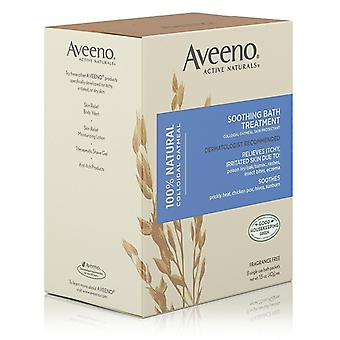 Aveeno soothing bath treatment, single use packets, 8 ea