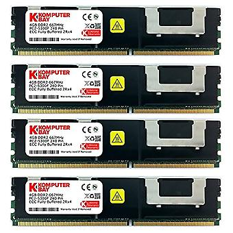 Komputerbay - RAM memory module 16 GB (4 x 4 GB), 667 MHz, DDR2, FBDIMM