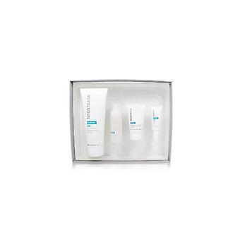 Kit antienvejecimiento de la piel sensible: restaurar el limpiador, restaurar la crema facial, restaurar el suero de la cara, restaurar la crema para los ojos 246557 4pcs